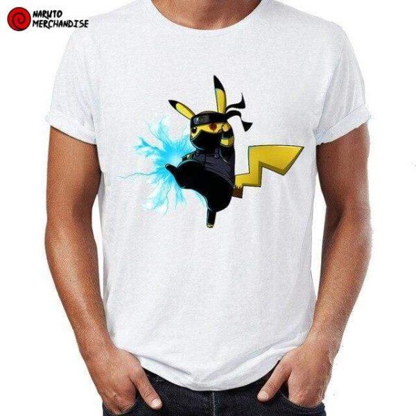 Naruto Shirt <br>Pikachu Kakashi Raikiri