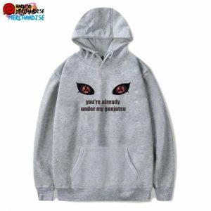 itachi mangekyou sharingan hoodie