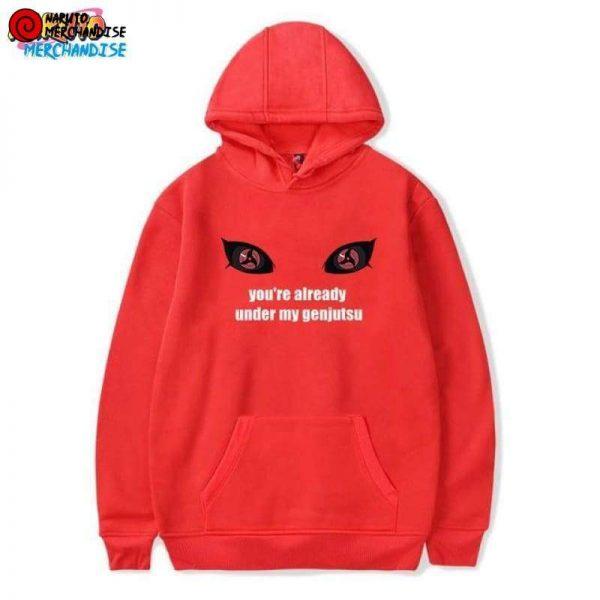 Naruto Hoodie Mangekyou Sharingan - Red / XXS - Naruto Hoodie
