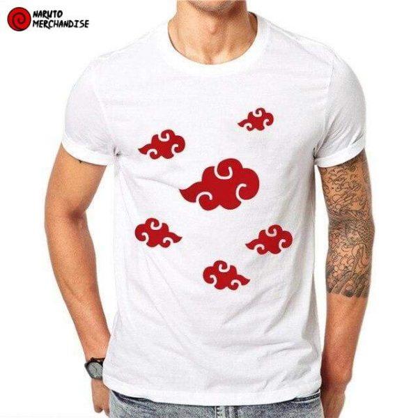 Naruto shirt <br>Akatsuki Clouds Symbol