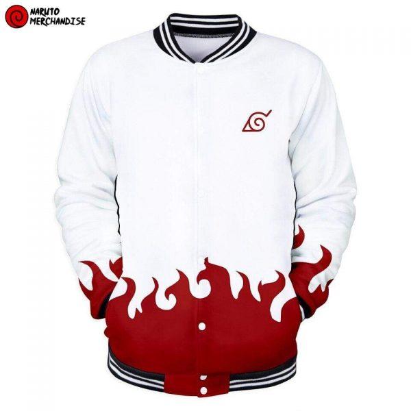 Naruto Baseball Varsity Jacket <br>Minato Namikaze Hokage