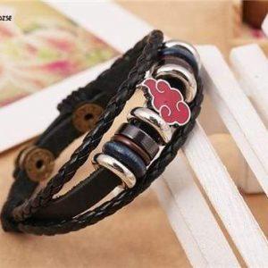 Naruto Bracelet <br>Akatsuki Cloud Symbol