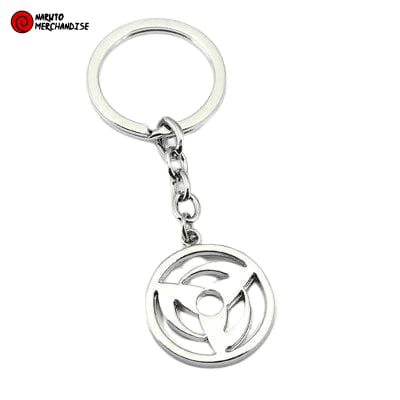 Naruto Keychain <br>Mangekyou Sharingan (Kakashi/Obito)
