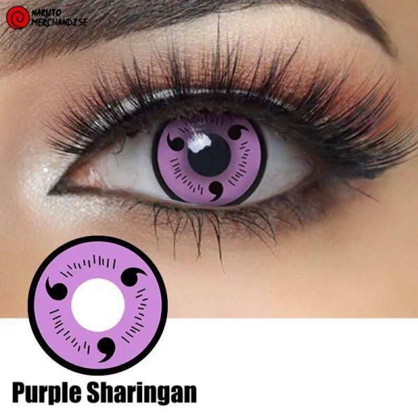 Purple Sharingan Contacts