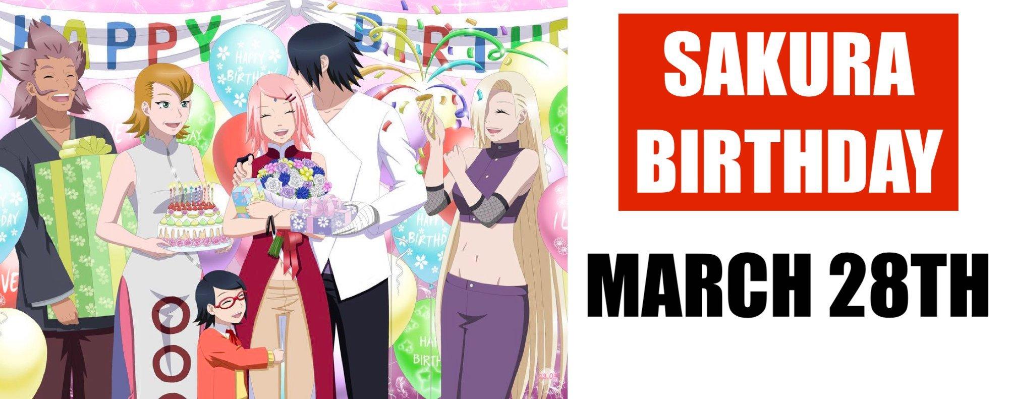 When is Sakura's Birthday