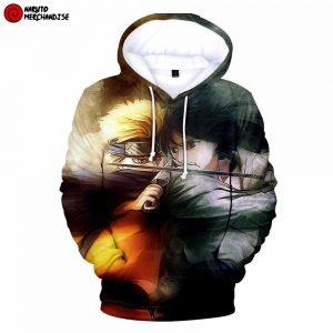 Sasuke 3d hoodie