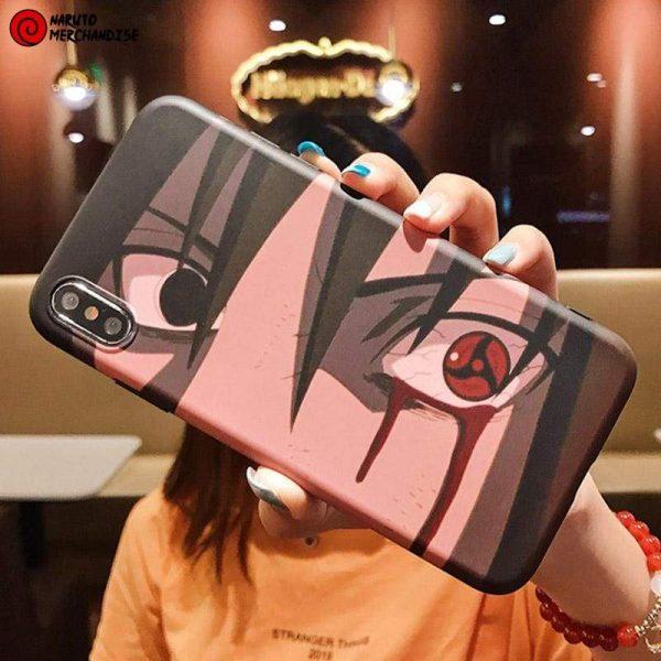 Sasuke and Itachi Eyes Phone Case