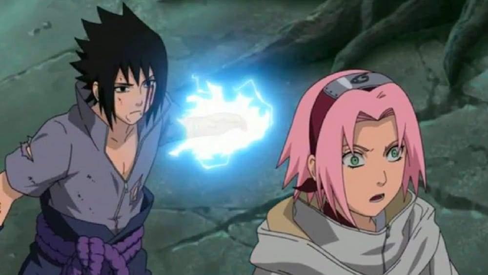 sasuke kills sakura