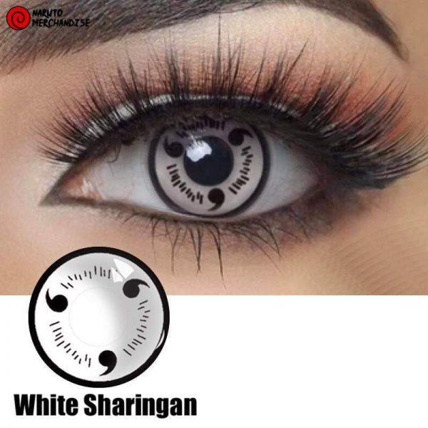 White Sharingan Contacts